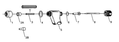 飞马特PWM/H-2A等离子焊枪配件