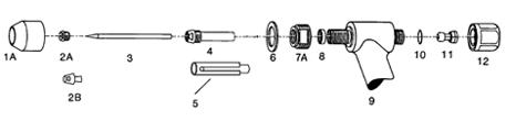 飞马特PWM/H-4A等离子焊枪配件
