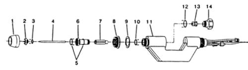 飞马特PWM-300等离子焊枪配件